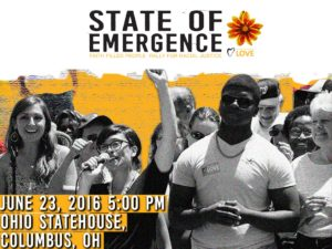 State of Emergence: Faith Filled People Rally for Racial Justice @ Ohio Statehouse | Columbus | Ohio | United States