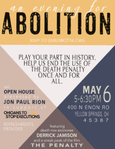 An Evening for Abolition @ Yellow Springs | Ohio | United States